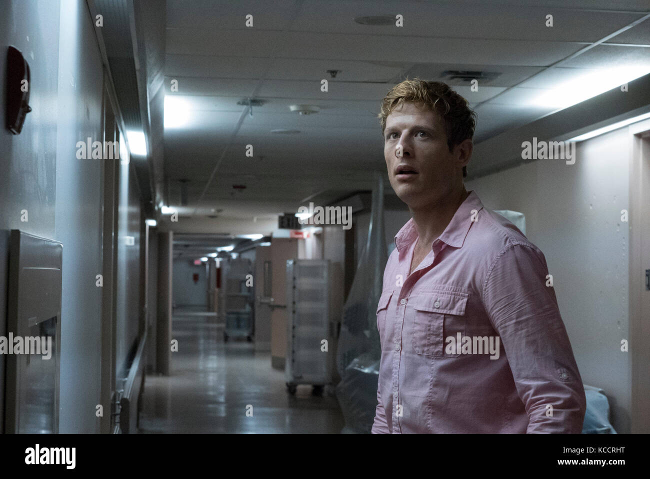 RELEASE DATE: TITLE: September 29, 2017. Flatliners. STUDIO: Columbia Pictures. DIRECTOR: Niels Arden Oplev. PLOT: - Stock Image