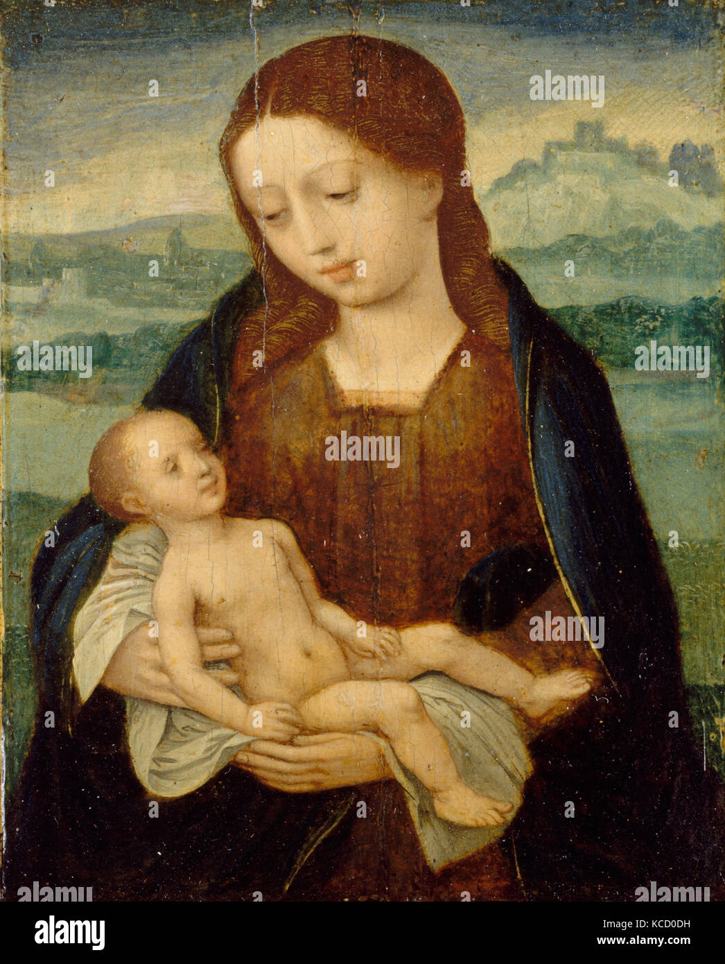Virgin and Child, Master of the Female Half-Lengths, ca. 1525–50 - Stock Image