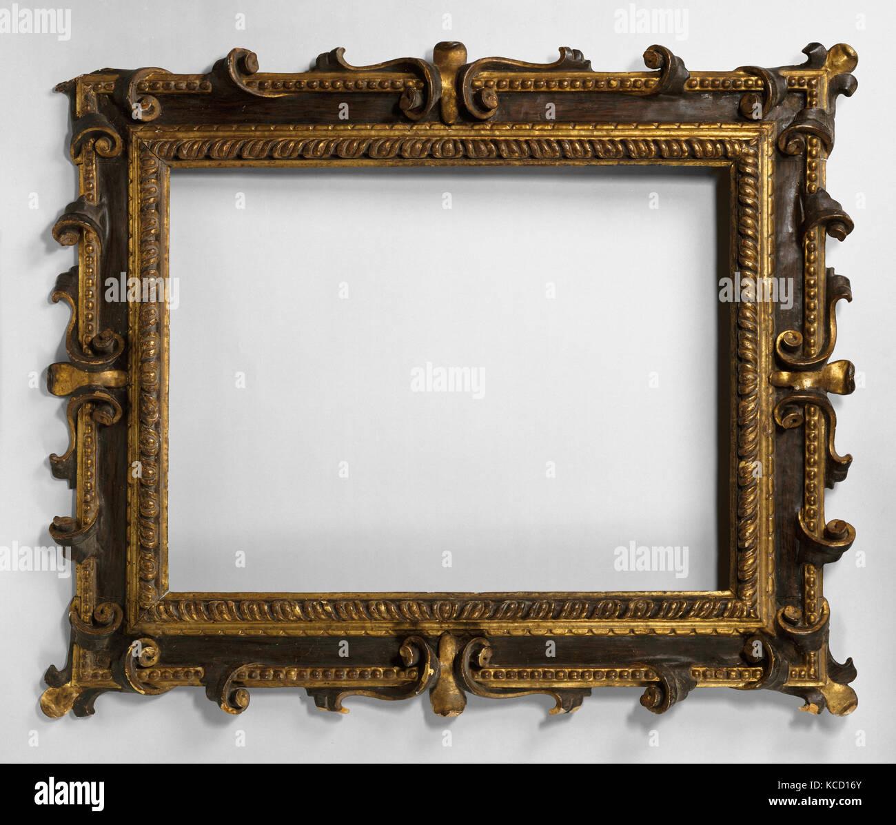 Reverse frame, 1600–1640, Italian, Florence, Poplar, Overall: 37 1/4 ...