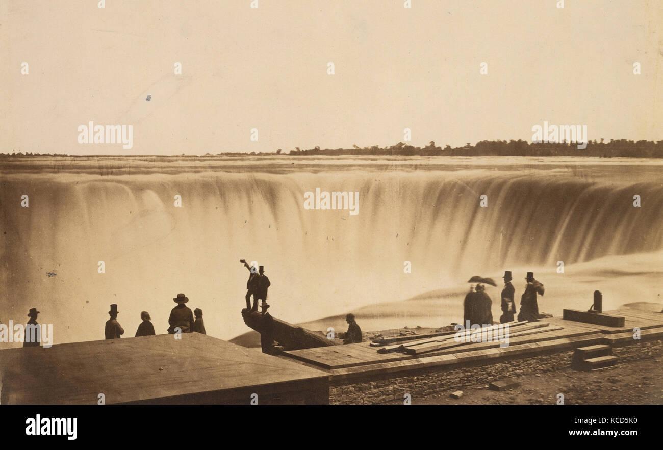 Niagara Falls, Possibly by Silas A. Holmes, ca. 1855 - Stock Image