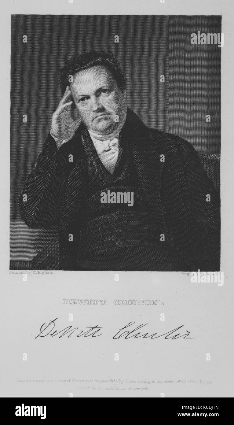 The National Portrait Gallery of Distinguished Americans, Vol. II, Edited and etched by James Barton Longacre, 1835 - Stock Image