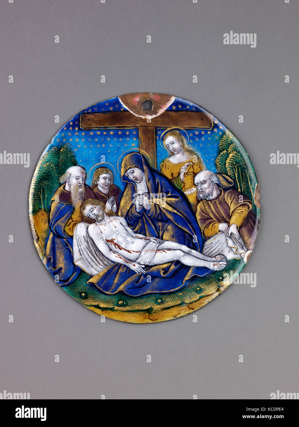 Lamentation, probably late 19th or early 20th century - Stock Image