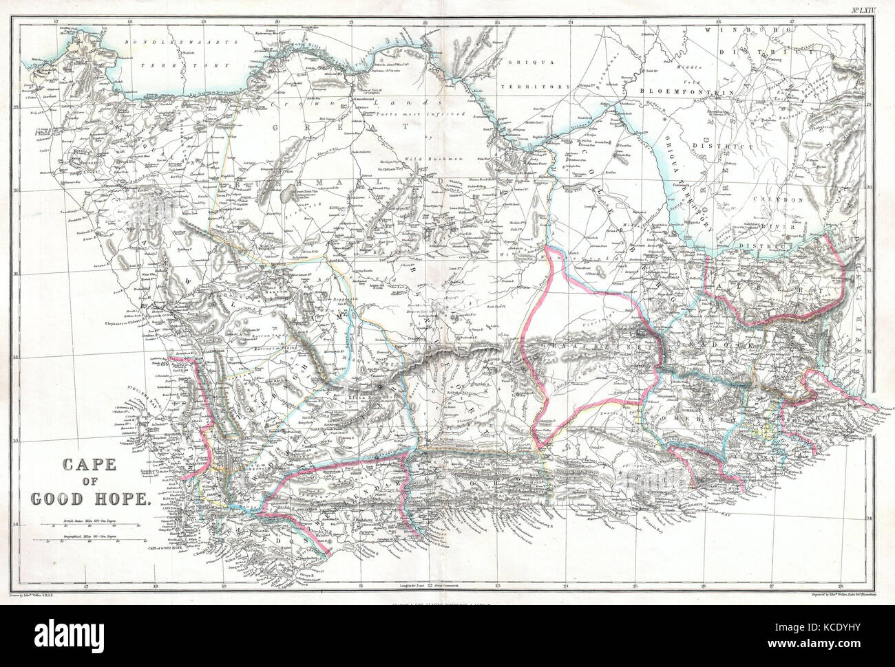 Cape Of Good Hope Map Stock Photos & Cape Of Good Hope Map Stock ...