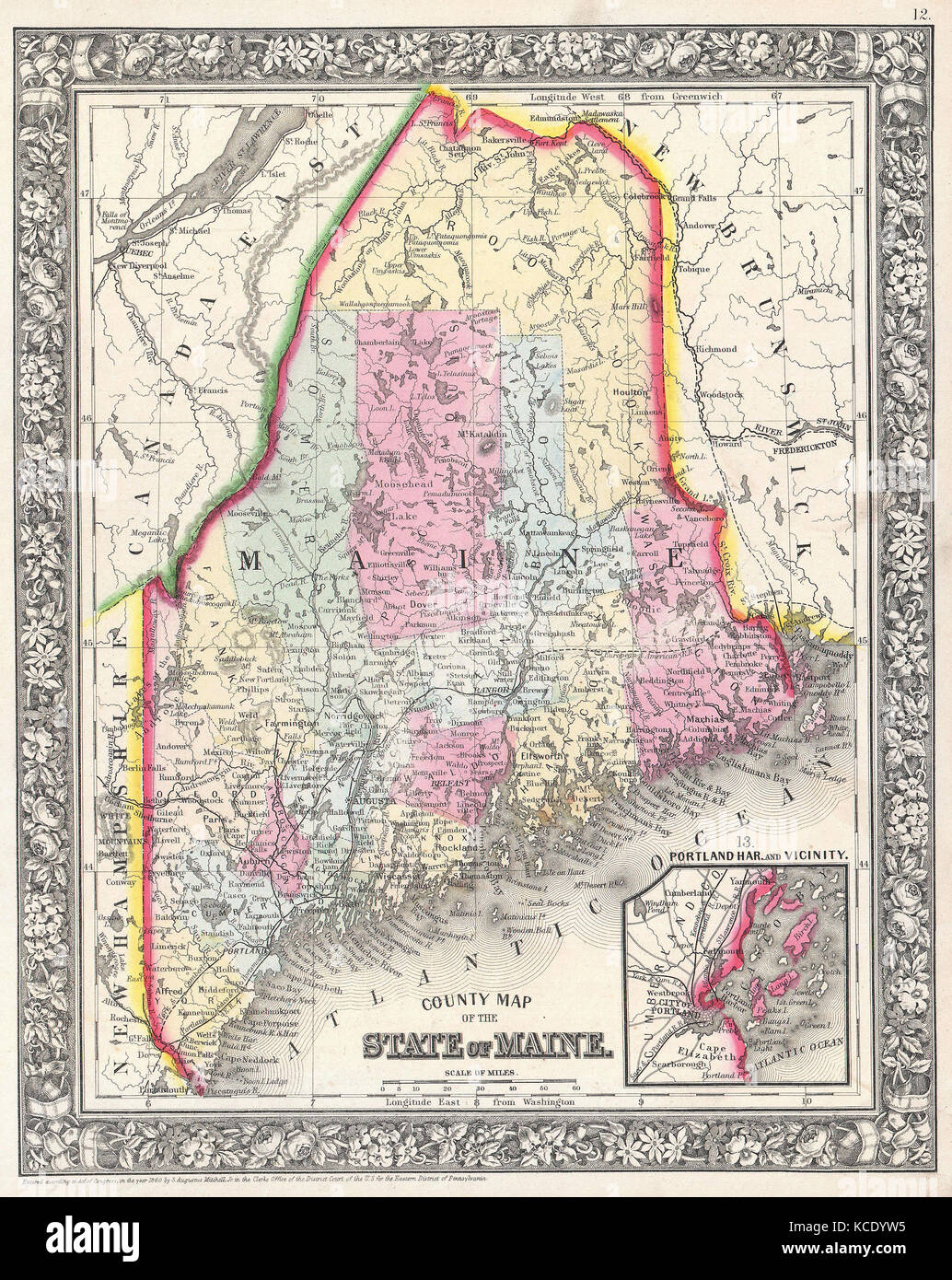 Map Of Maine Antique Stock Photos & Map Of Maine Antique ... Maine Wmd Map on maine zip code map, maine hunting districts map, maine state parks map, university of maine orono map, maine state police zone map, maine regions map, maine hunting zones map, maine on a map, maine power outage map, rockwood maine map, maine natural resource map, ashland maine map, maine narrow gauge railroad map, maine ski areas map, southern maine community college campus map, maine golf courses map, maine expanded archery map, maine lakes map, maine united states map, maine snow depth map,