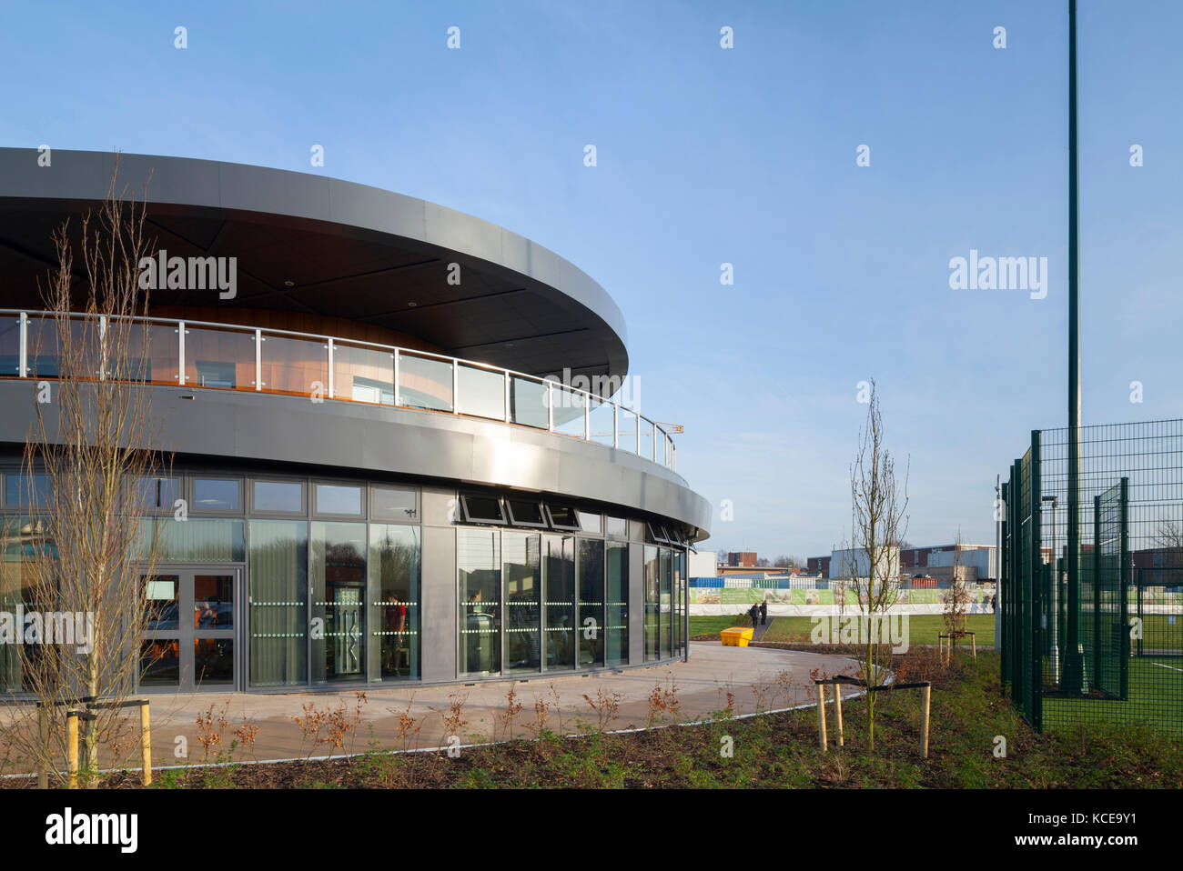 The Hub, College Lane Student Residences, University of Hertfordshire. - Stock Image