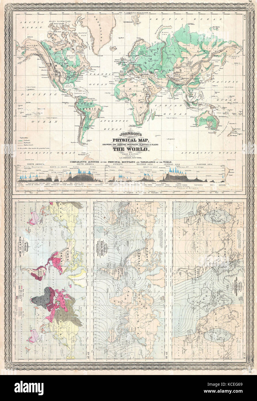1870 johnson climate map of the world w physical map tidal map 1870 johnson climate map of the world w physical map tidal map races and declination gumiabroncs Choice Image