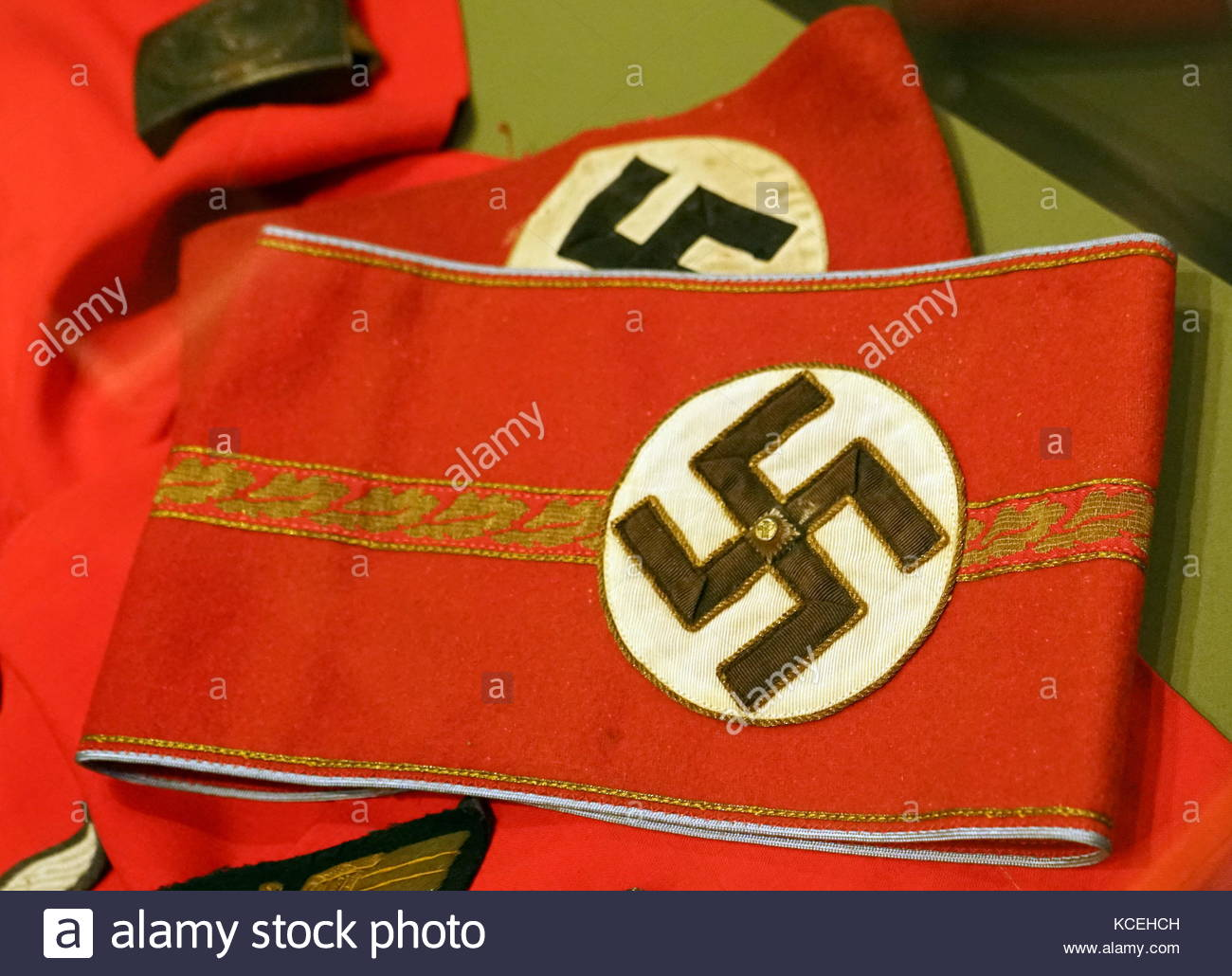 Nazi symbol stock photos nazi symbol stock images alamy german nazi armband captured during the liberation of france in world war two stock biocorpaavc Gallery