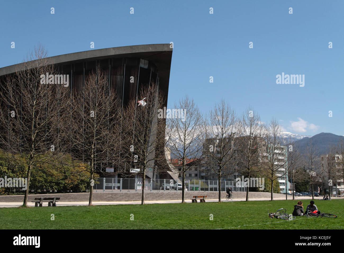 Architecture In Grenoble Stock Photos & Architecture In Grenoble ...