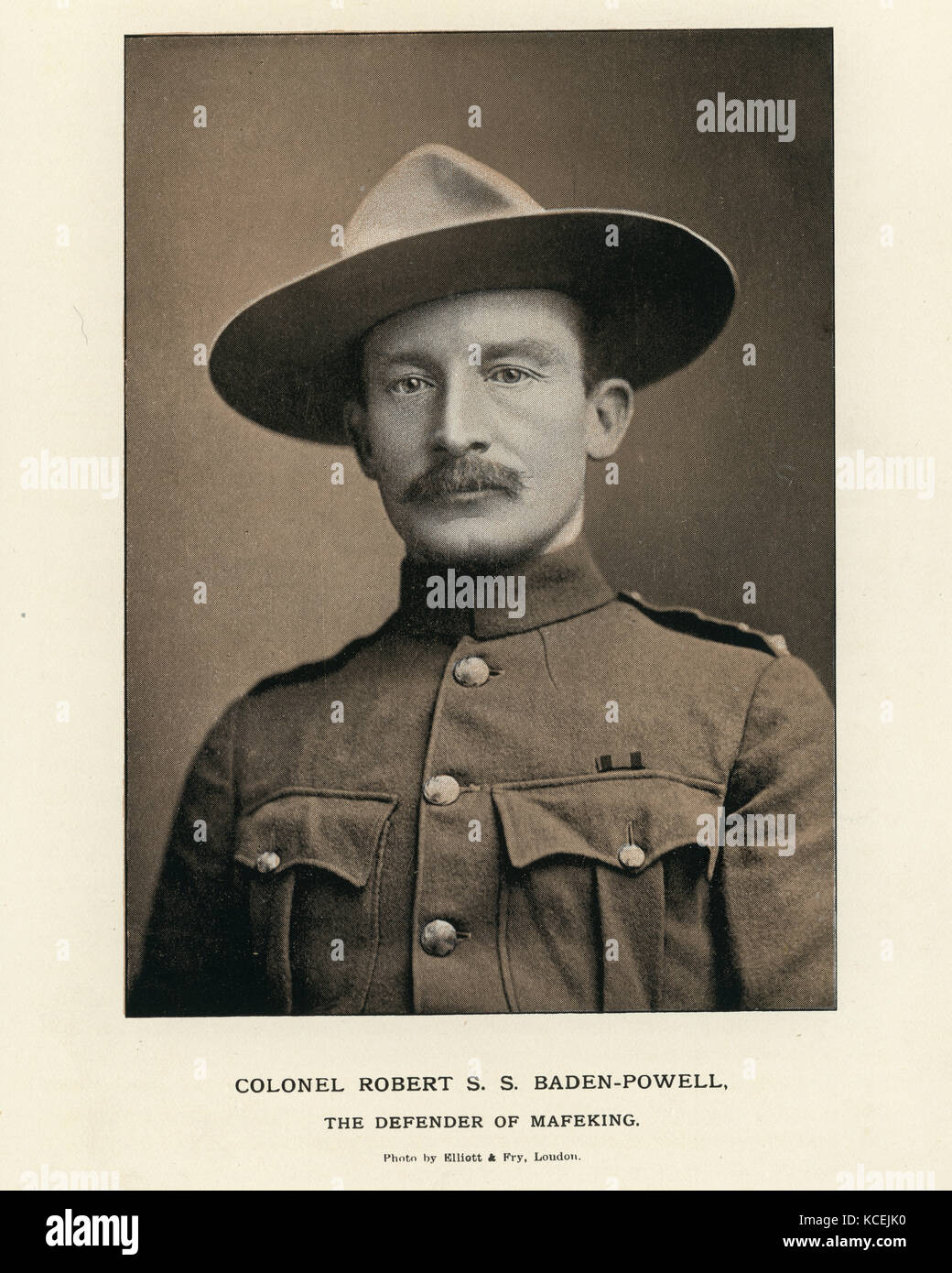 Lieutenant General Robert Stephenson Smyth Baden-Powell. a British Army  officer 75ef8476d21