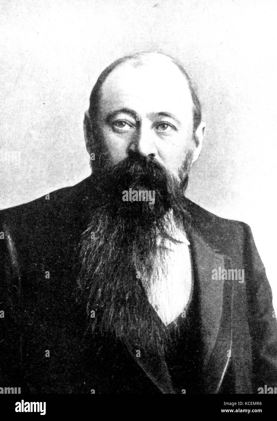 Martinus (or Marthinus) Theunis Steyn (1857 – 1916) was a South African lawyer, politician, and statesman, sixth - Stock Image