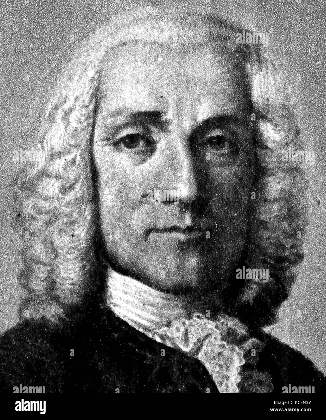 Alessandro Scarlatti (1660–1725), Baroque composer known for operas and chamber cantatas - Stock Image