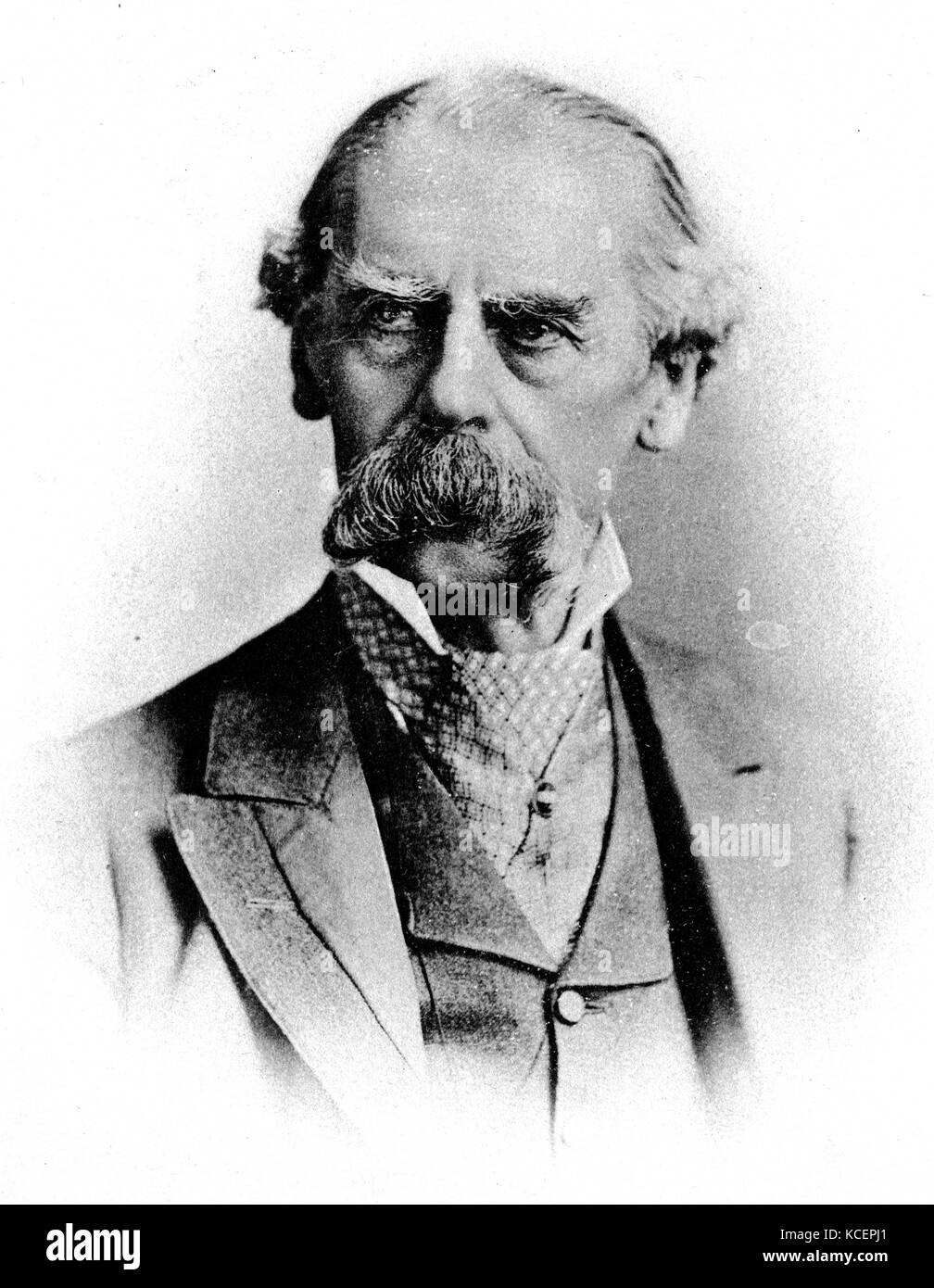Photograph of Sir Henry Thompson, 1st Baronet (1820-1904) a British surgeon and polymath. Dated 19th Century - Stock Image