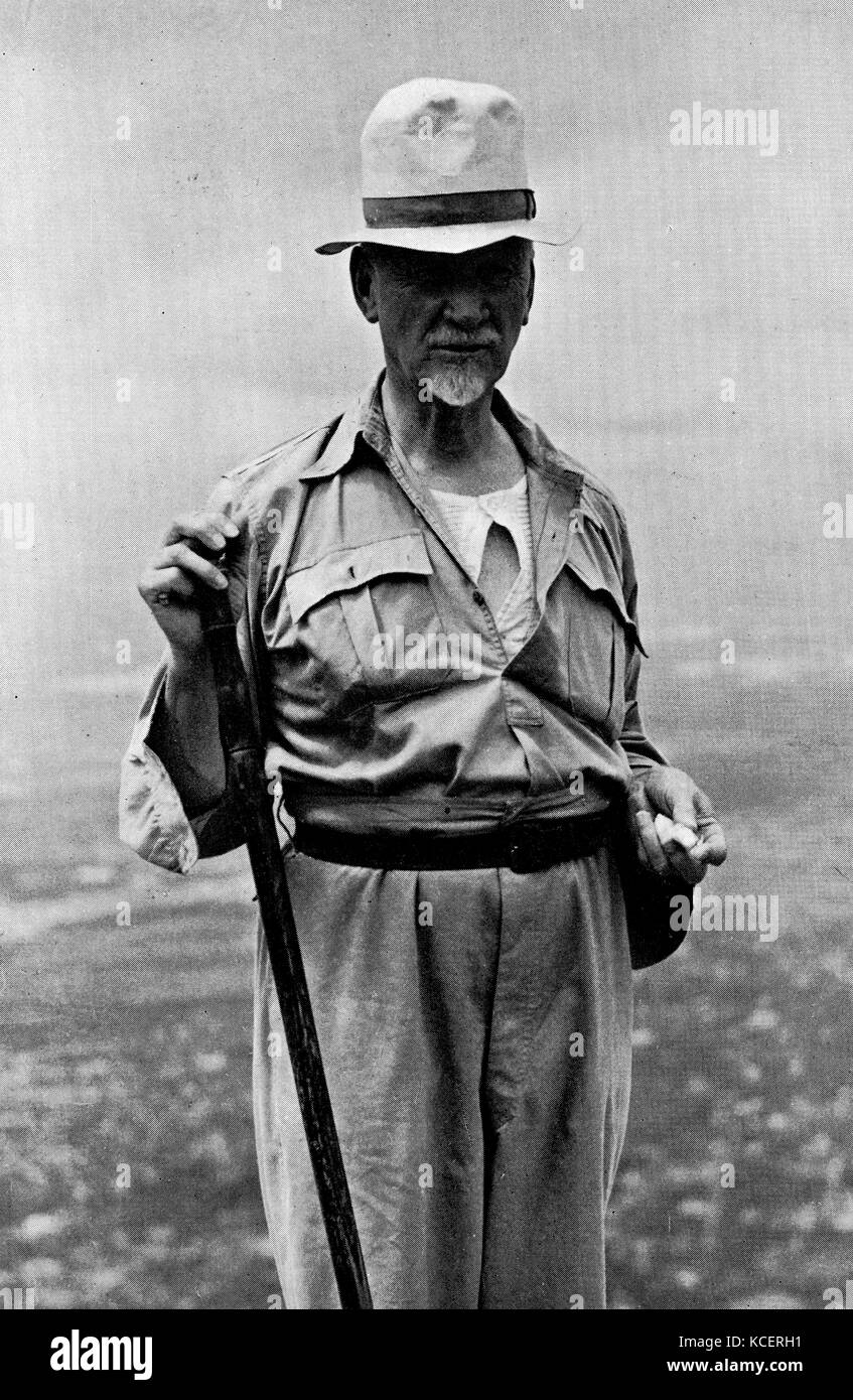 Photograph of Field Marshall Jan Christiaan Smuts (1870-1950) a South African and British Commonwealth statesman, - Stock Image