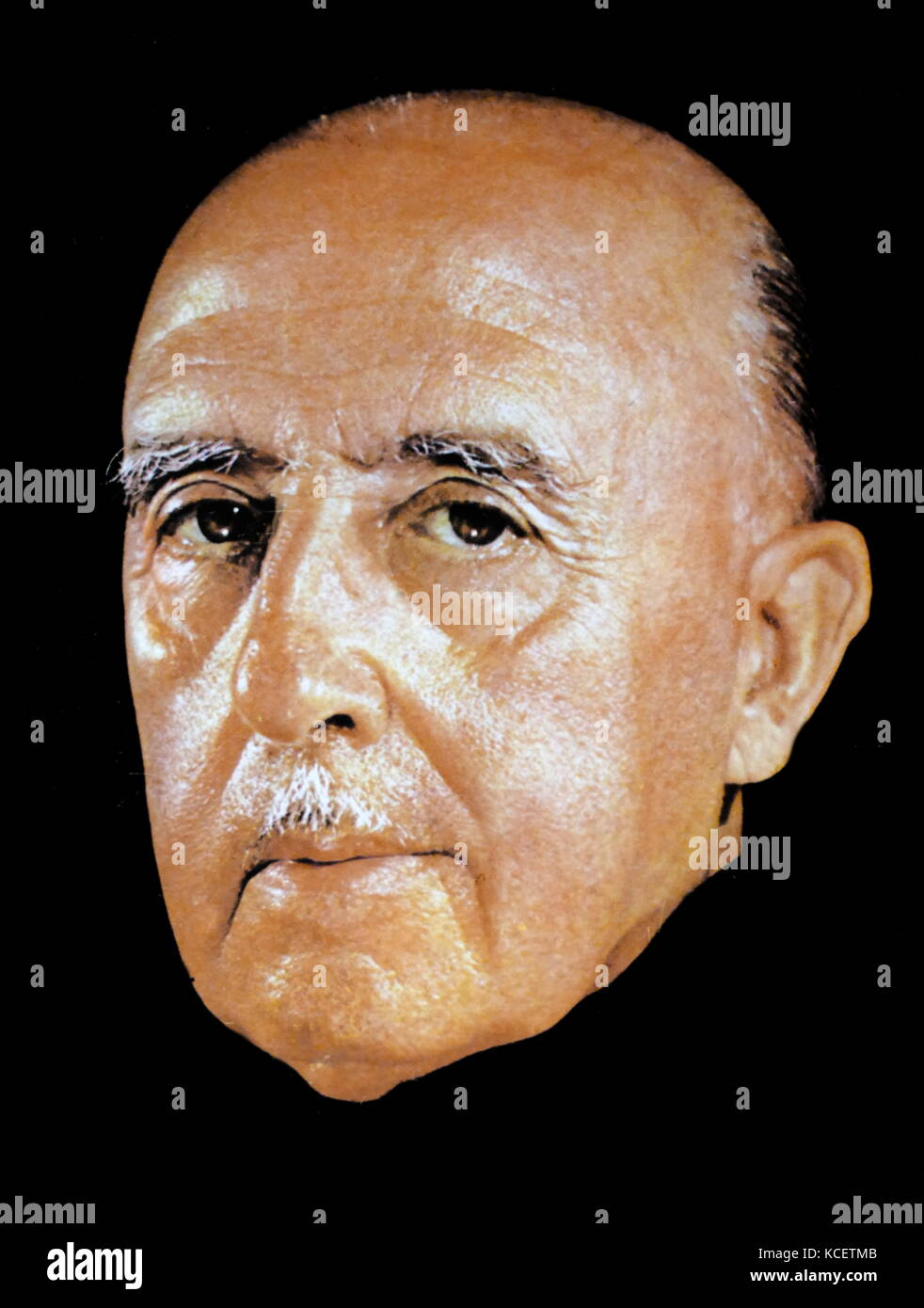 Francisco Franco Bahamonde (1892 – 1975) Spanish general, dictator and the Caudillo of Spain from 1939 until his - Stock Image