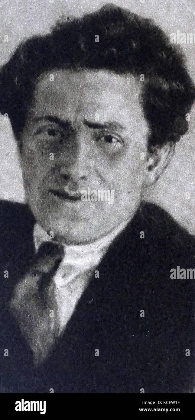 Grigory Yevseevich Zinoviev (1883 – 1936), a Bolshevik revolutionary and a Soviet Communist politician. - Stock Image