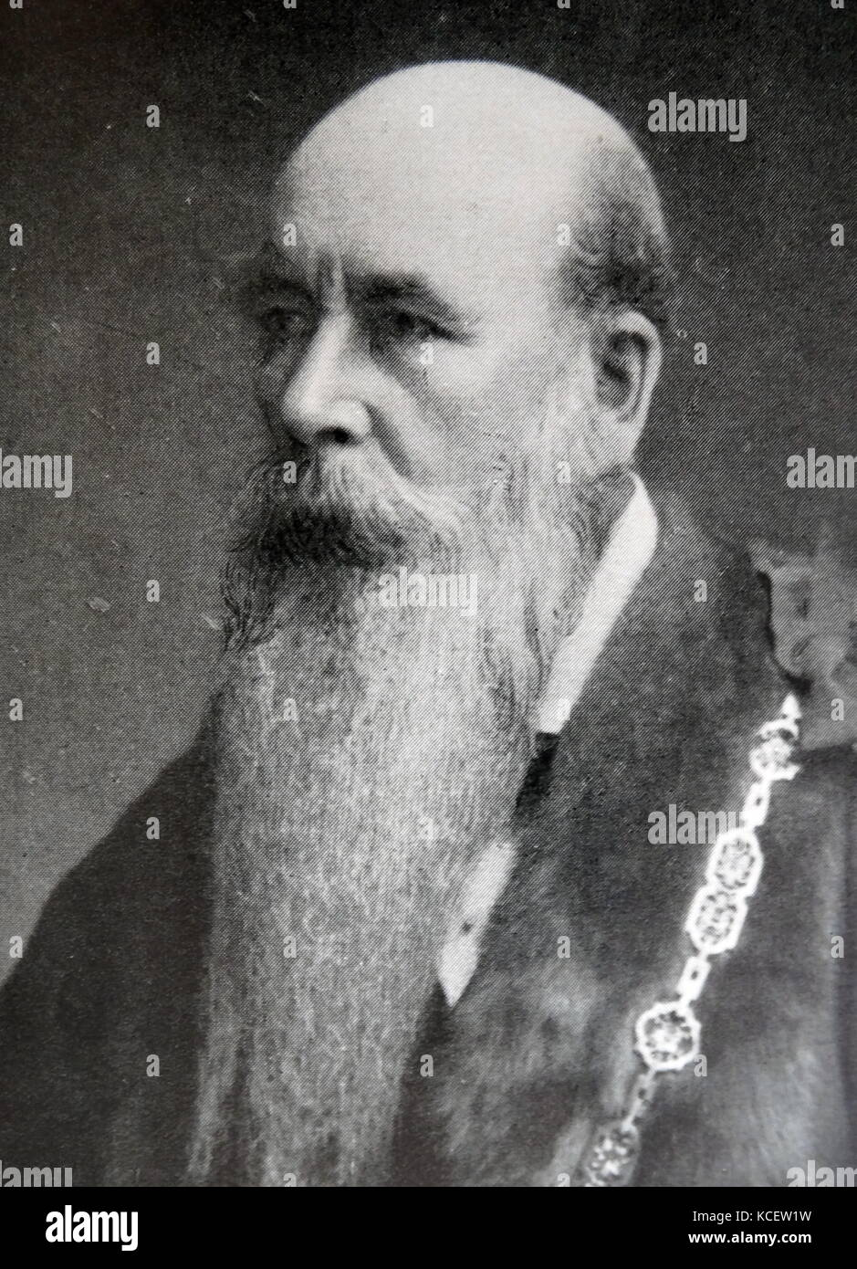 Sir John Aird, 1st Baronet (3 December 1833 – 6 January 1911) was a notable English civil engineering contractor - Stock Image