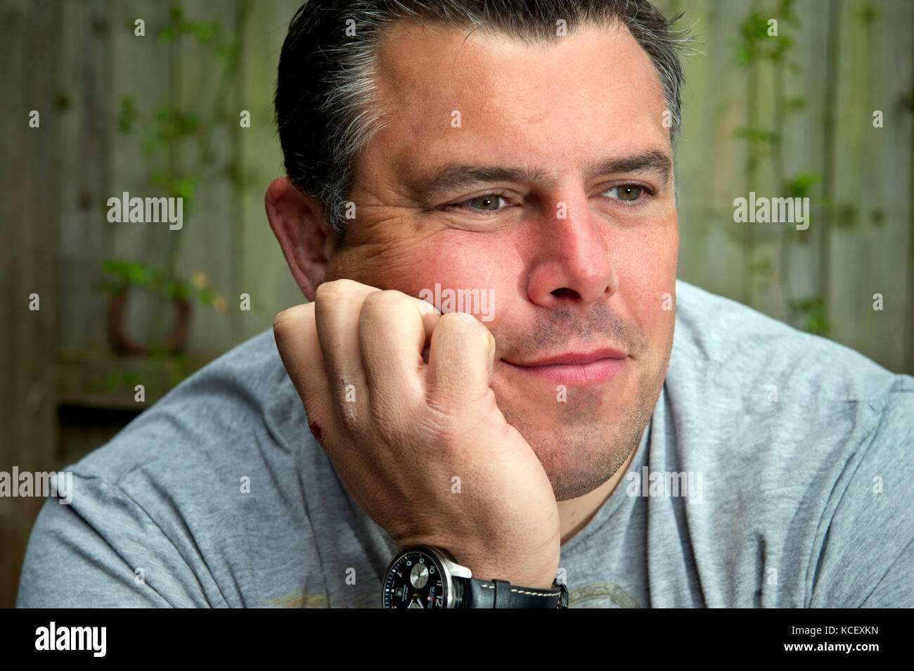 Bath RFC player Duncan Bell, who admits to suffering with depression. - Stock Image