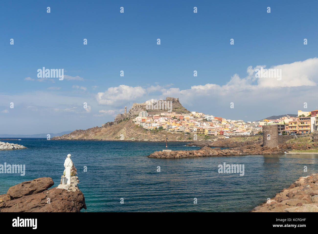 Castelsardo is a town in Sardinia, Italy, located in the northwest of the island - Stock Image