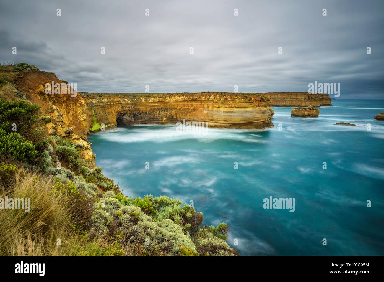 Loch Ard Gorge  in Victoria, Australia, near Port Campbell - Stock Image