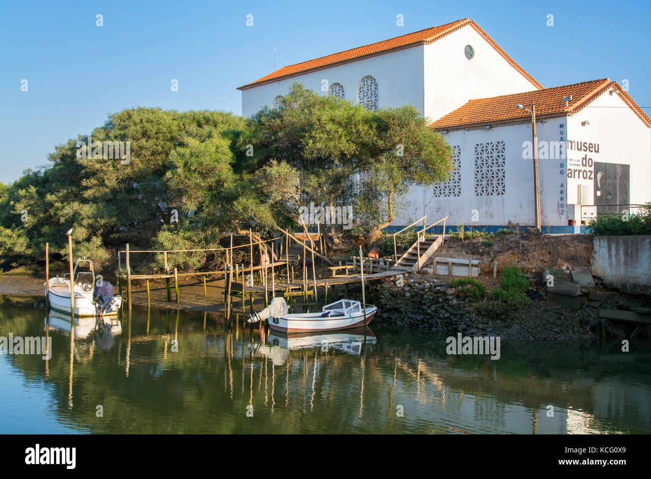 Alentejo Portugal. 06 September 2017.Rice Museum in Comporta Alentejo, Portugal. photography by Ricardo Rocha. - Stock Image