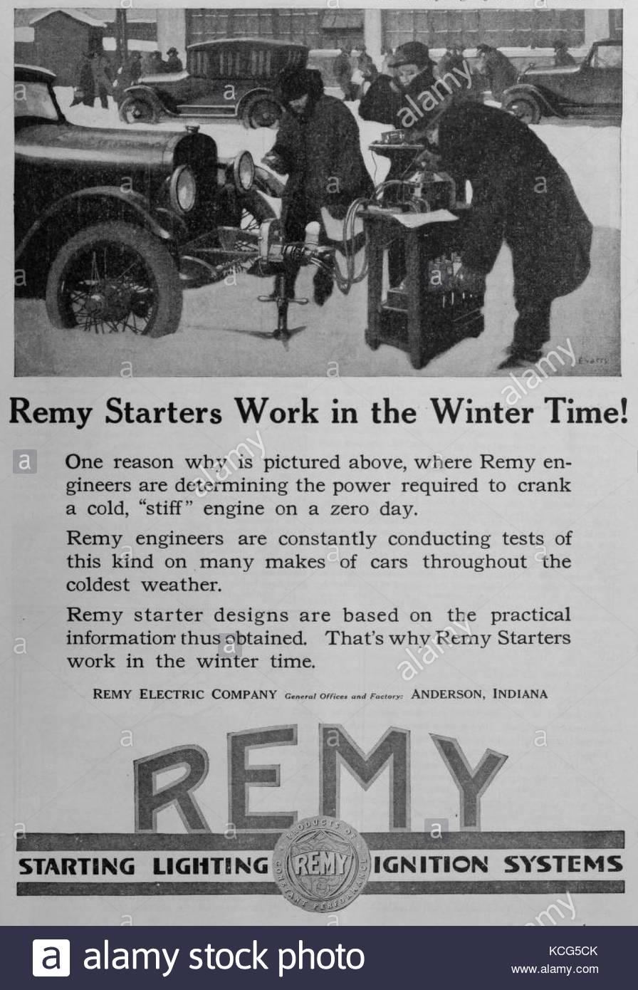 Old Ford Car Factory Stock Photos Starter Motor Vintage Image