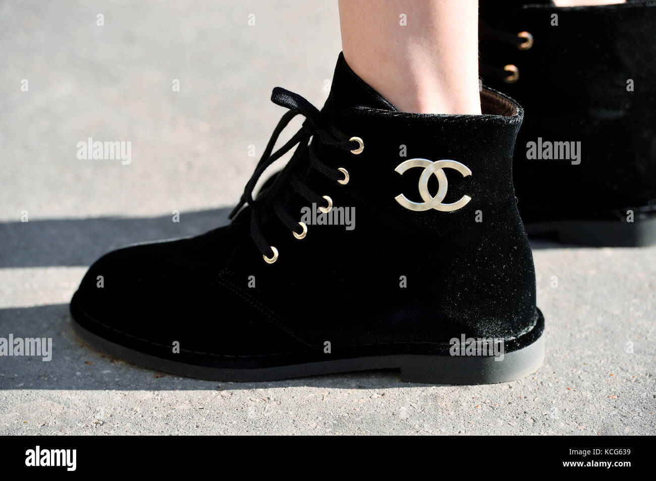 Chanel Shoes High Resolution Stock