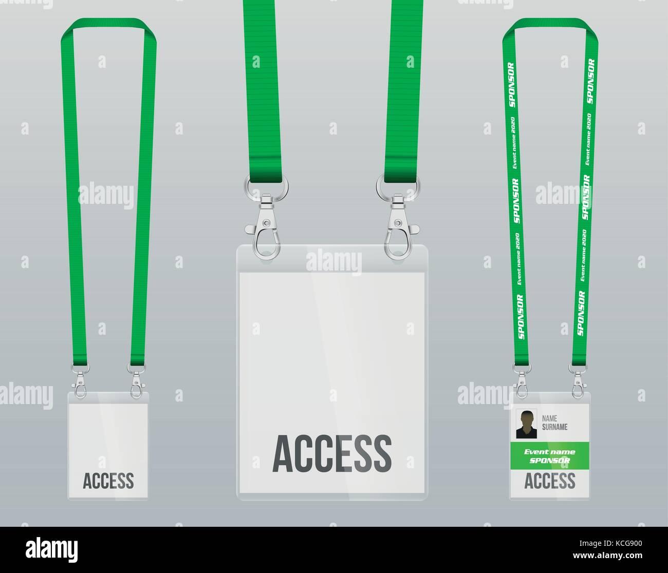 Press Pass Stock Vector Images - Alamy