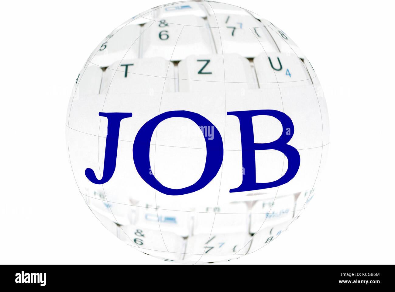 Global Job - Stock Image