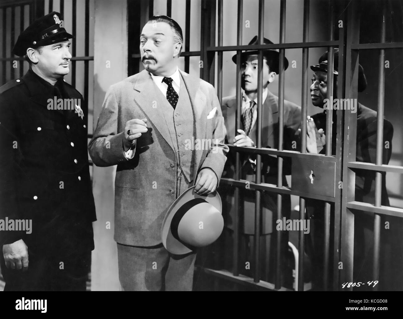 THE SHANGHAI CHEST 1948 Monogram Pictures film with Roland Winters as Charlie Chan - Stock Image