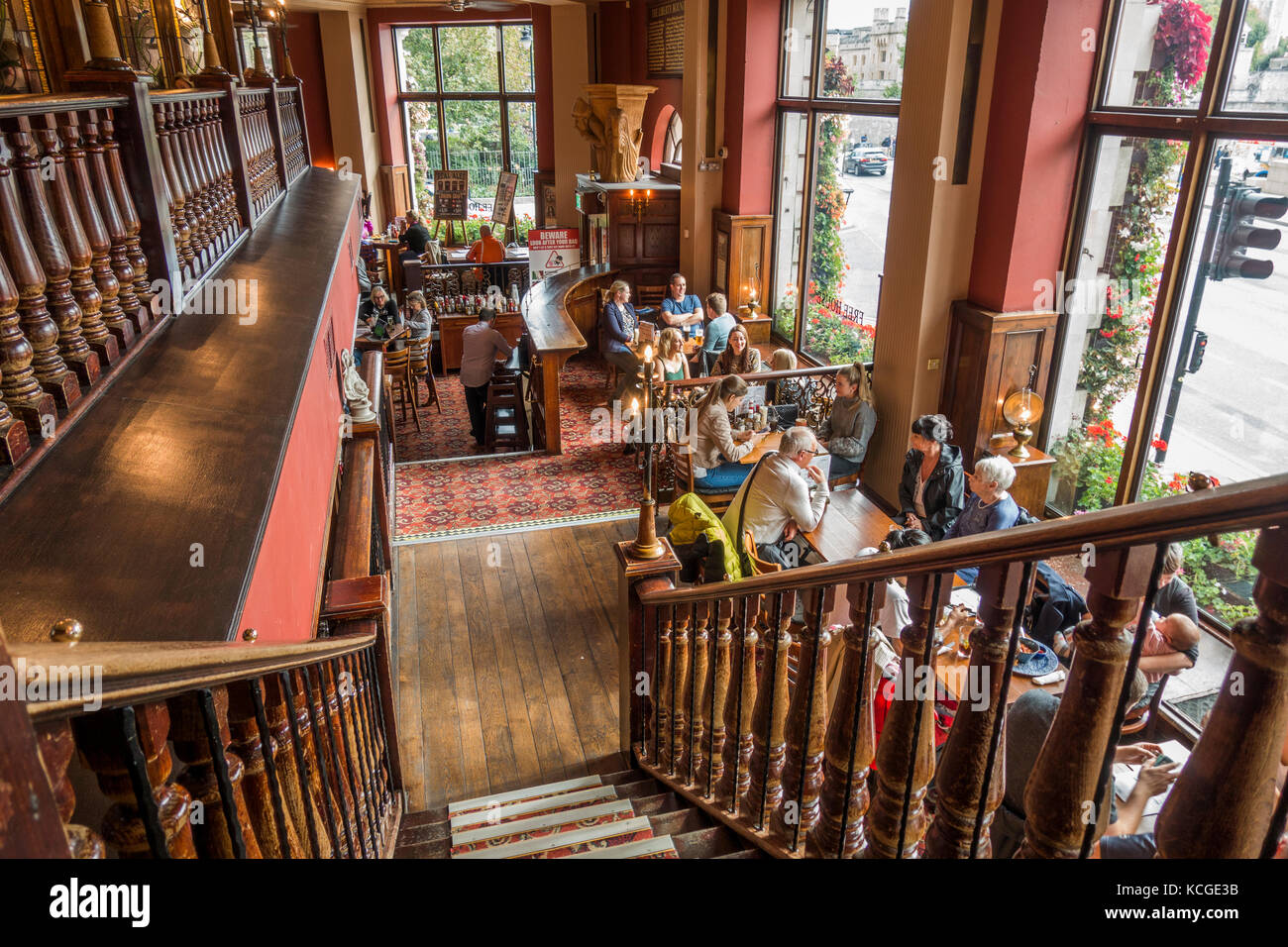 Historic, 17th century, Liberty Bounds JD Wetherspoon (Wetherspoons) bar / pub / restaurant in Tower Hill, London, - Stock Image