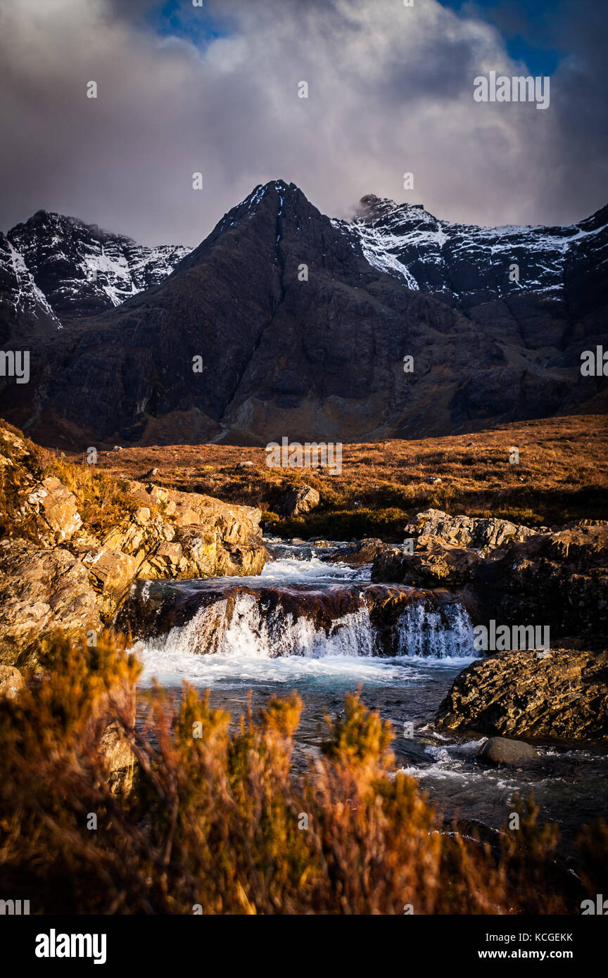Fairy pools, Isle of Skye, Scotland - Stock Image