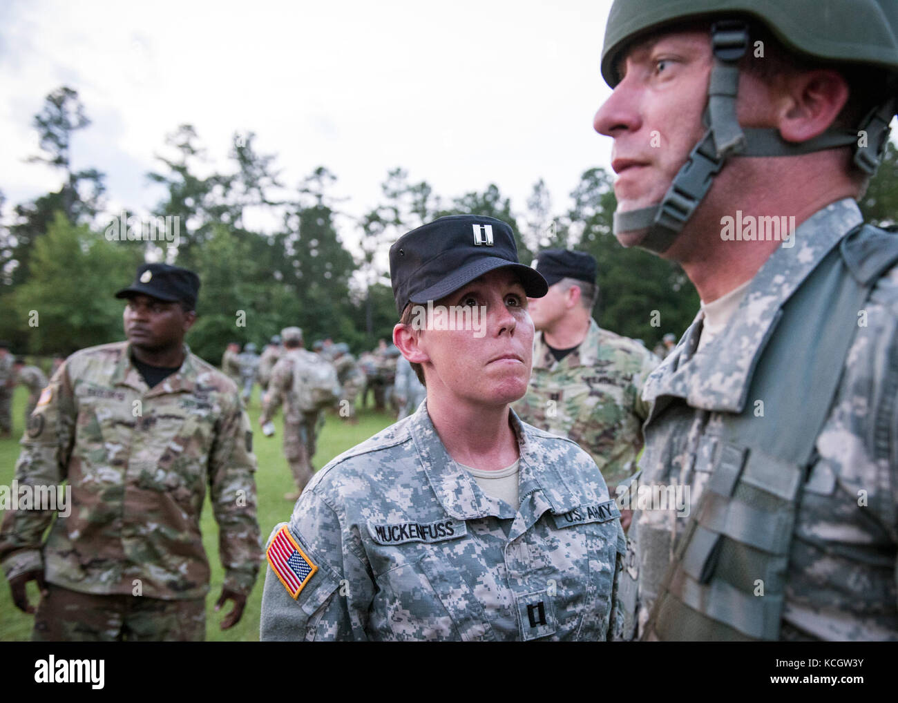 Gentil A New Group Of U.S. Army National Guard Officer Candidates Arrived At 2nd  Battalion (Officer