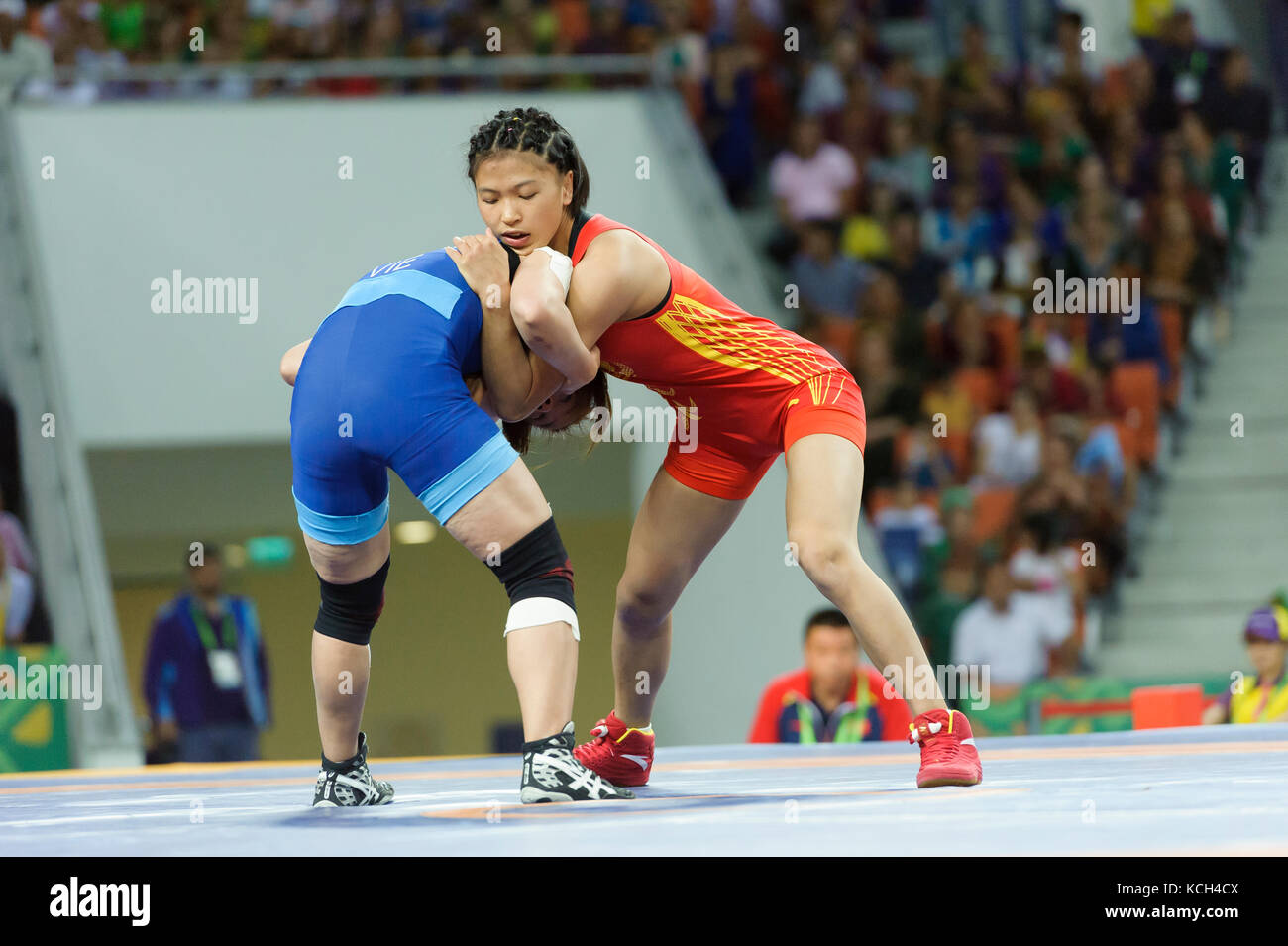 Womens Wrestling Stock Photos & Womens Wrestling Stock Images - Alamy