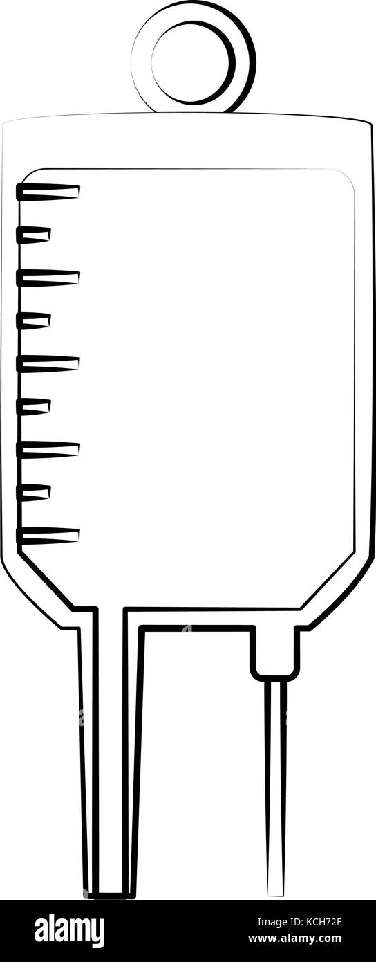 iv bag icon image  - Stock Vector