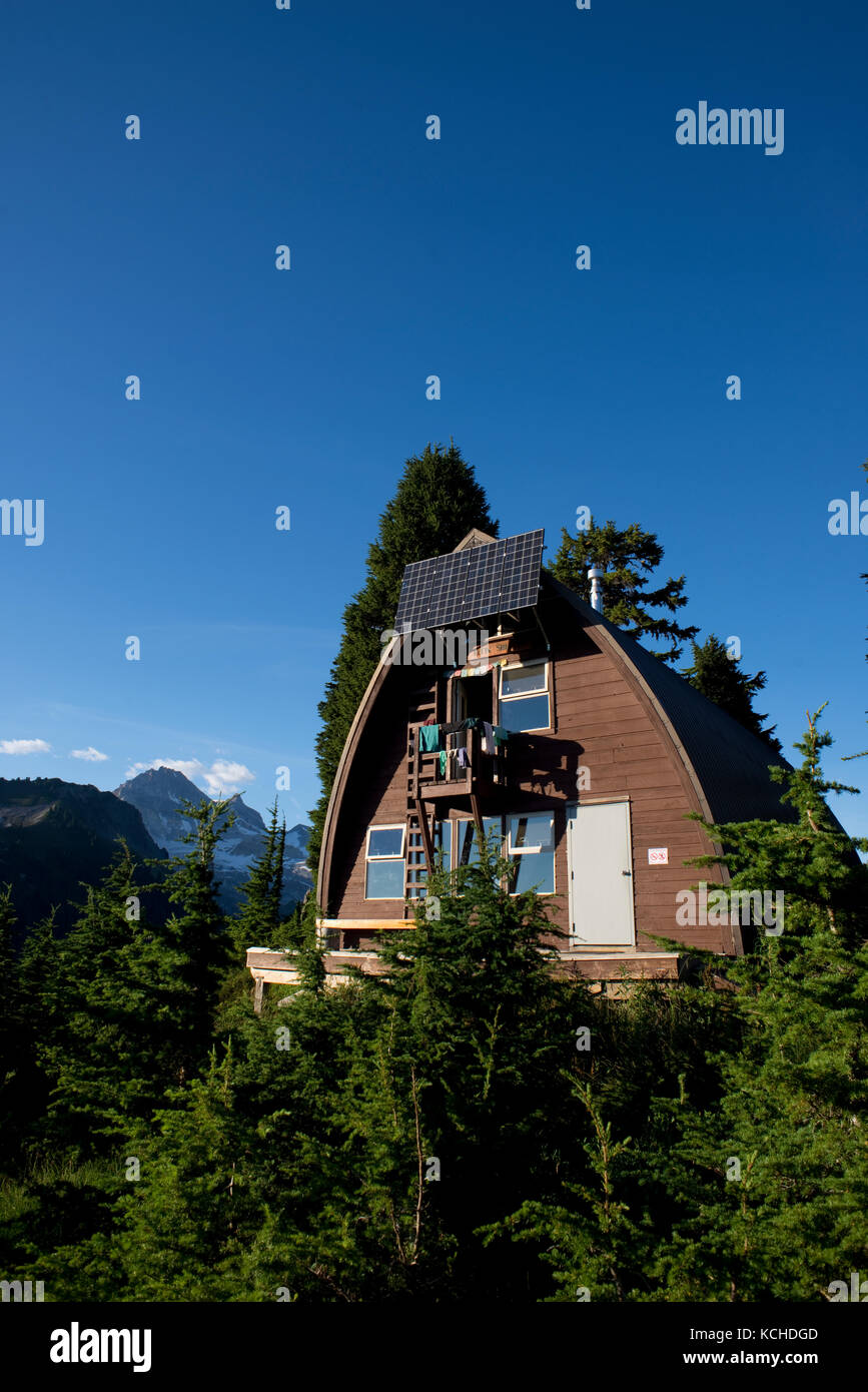 Elfin Lakes Trail to Elfin Lakes, Diamond Head, Garibaldi Provincial Park, Squamish, British Columbia Stock Photo
