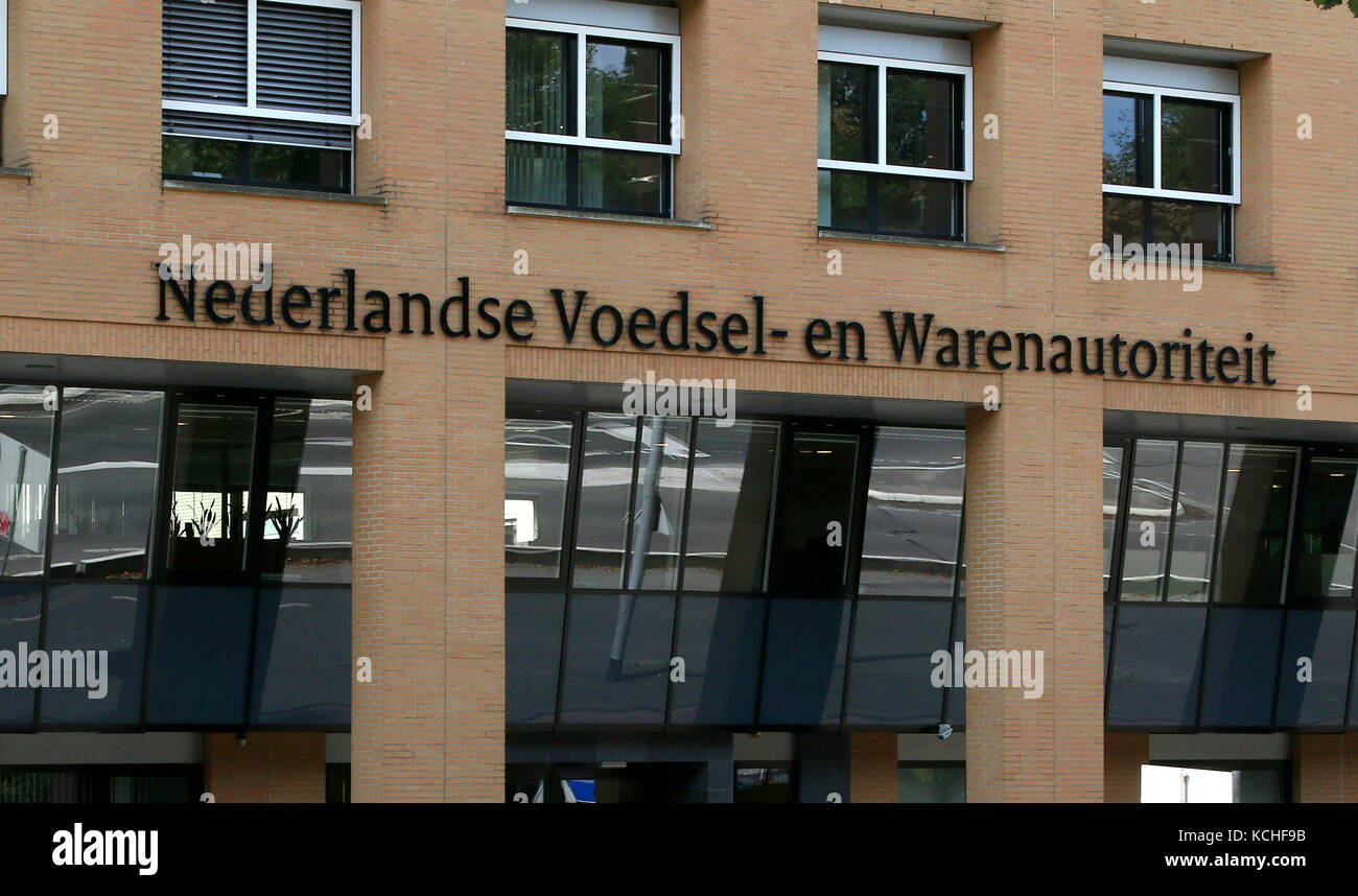 Head office of the The Netherlands Food and Consumer Product Safety Authority (Voedsel en Waren Autoriteit - NVWA Stock Photo