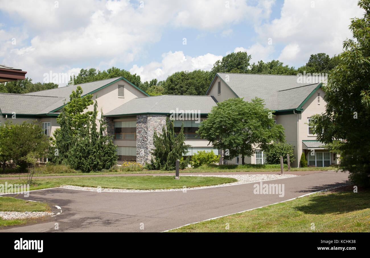 Pennswood Retirement Village In Newton   Pa, Pennsylvania   USA   Stock  Image