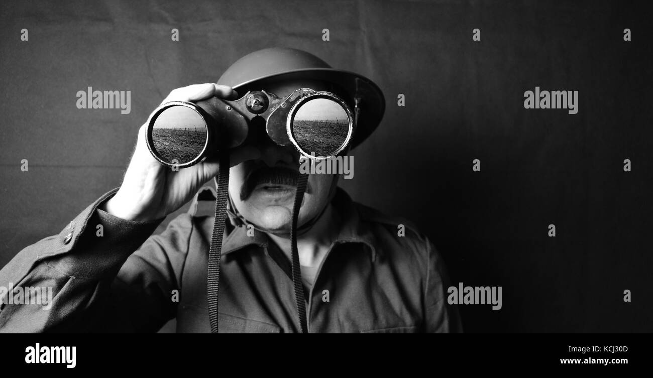 First World War Soldier - Stock Image