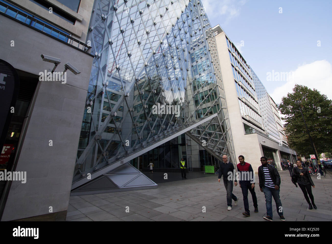 offices of Brevan Howard the European hedge fund management and private investment company, London - Stock Image