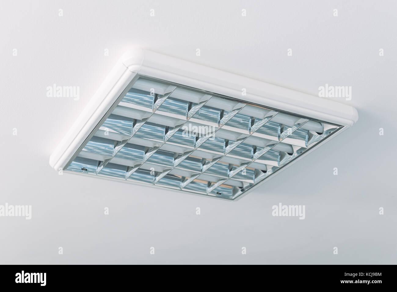 Fluorescent Ceiling Lights Stock Photos & Fluorescent Ceiling Lights ...