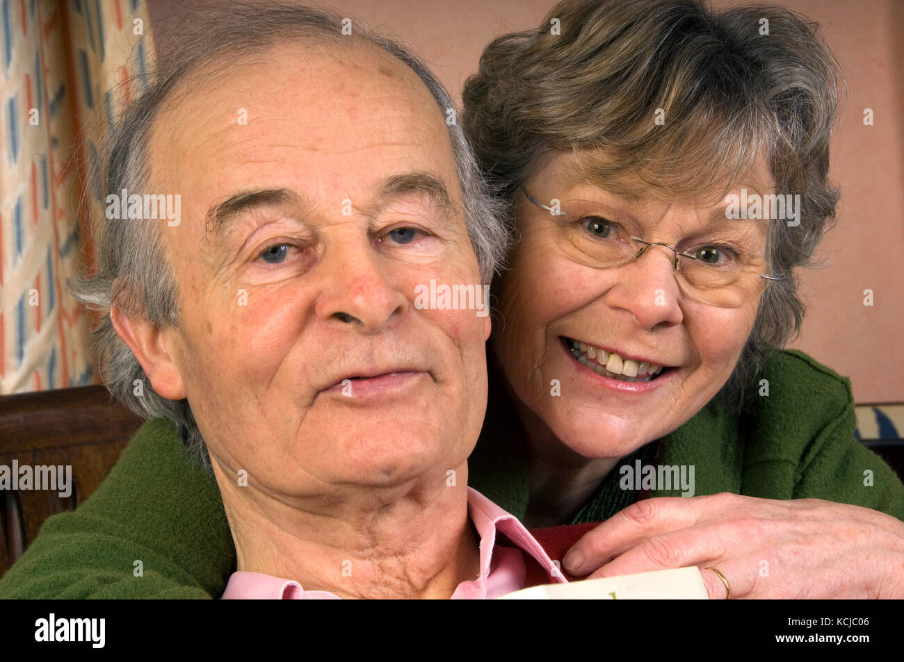 Jane & Robert Fearnley-Whittingstall, parents of Hugh Fearnley-Whittingstall. - Stock Image