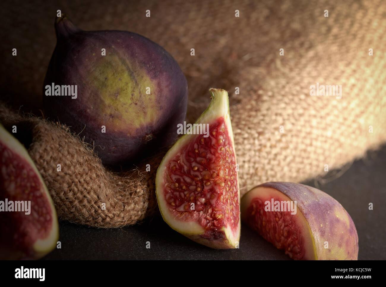 Fresh Figs - Stock Image