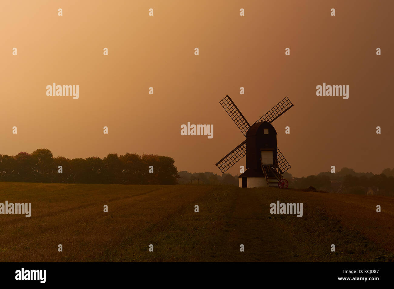 Pitstone Windmill, Buckinghamshire - Stock Image
