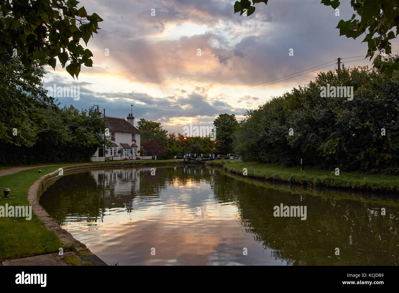 Grand Union Canal, Marsworth - Stock Image