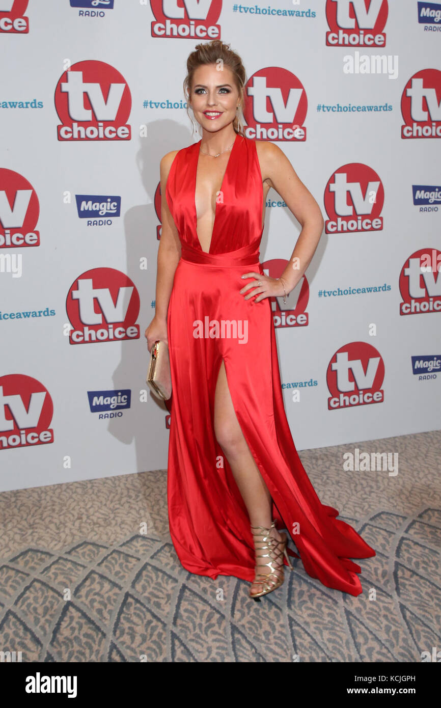 7b8567364b0 The TVChoice Awards 2017 held at the Dorchester - Arrivals Featuring   Stephanie Waring Where