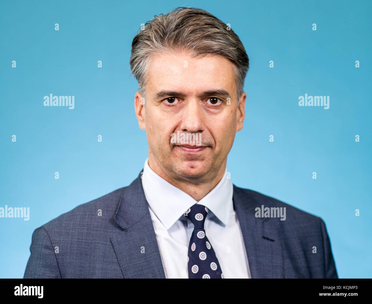Marc Jongen, member of the AfD parliamentary group in the 19th legislative period of the Bundestag (federal parliament), Stock Photo
