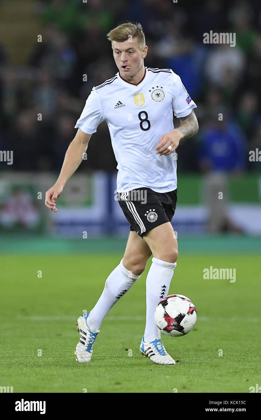 Toni Kroos Germany Ges Fussball Wm Qualifikation
