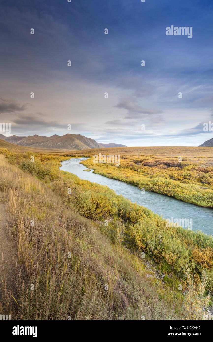 Blackstone River, Tombstone Territorial Park, Yukon, Canada - Stock Image