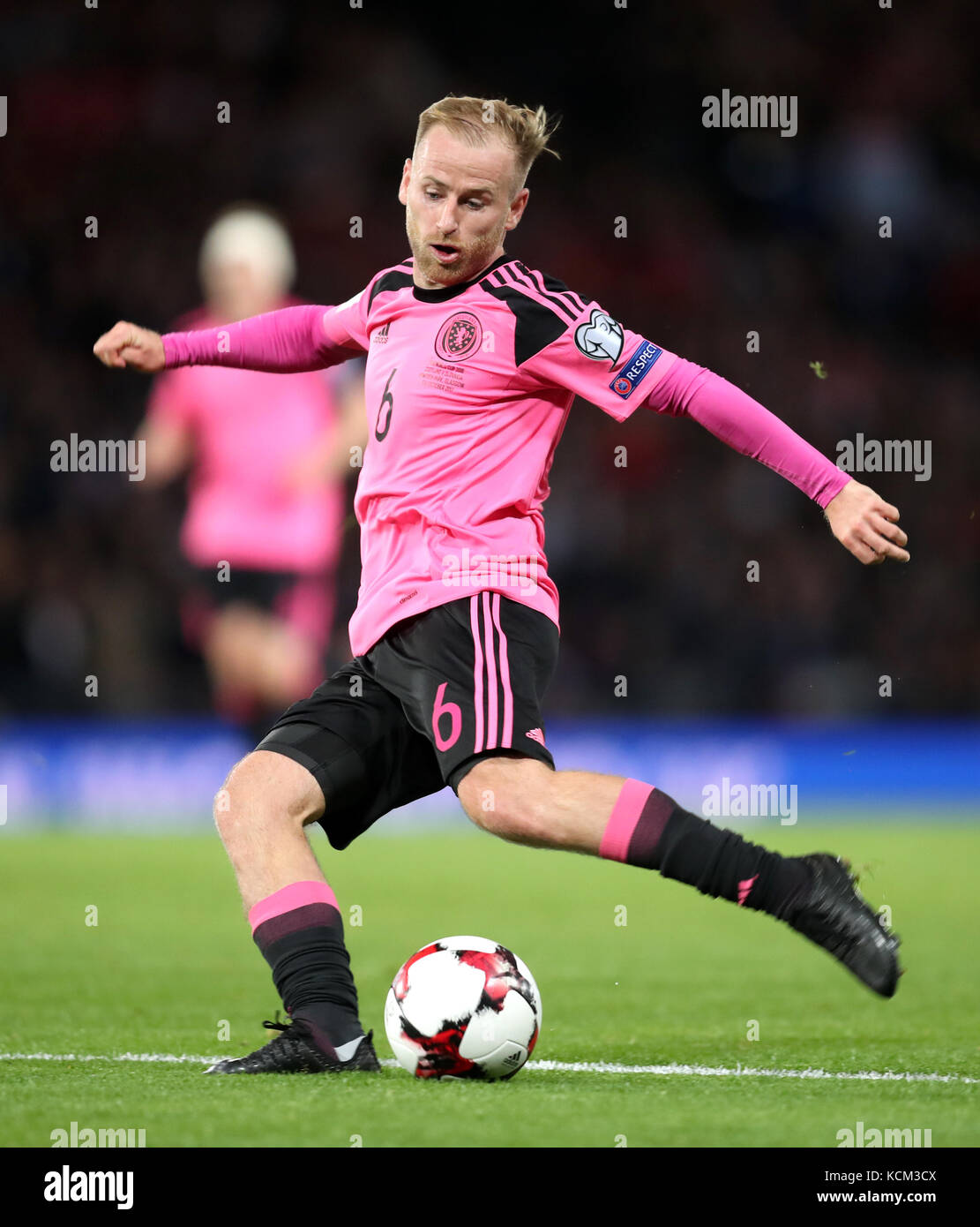 Scotland S Barry Bannan During The 2018 Fifa World Cup Qualifying Group F Match At Hampden Park Glasgow Press Association Photo