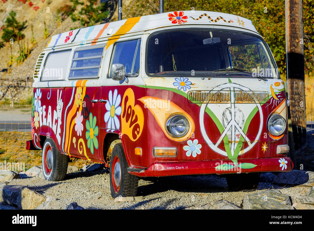 7295f098e6 Hippie Van Stock Photos   Hippie Van Stock Images - Alamy